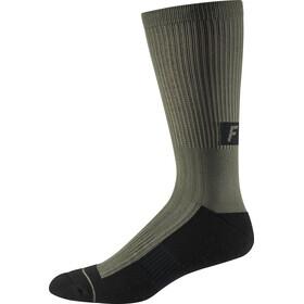"Fox 8"" Trail Cushion Crew Socks Herren olive green"